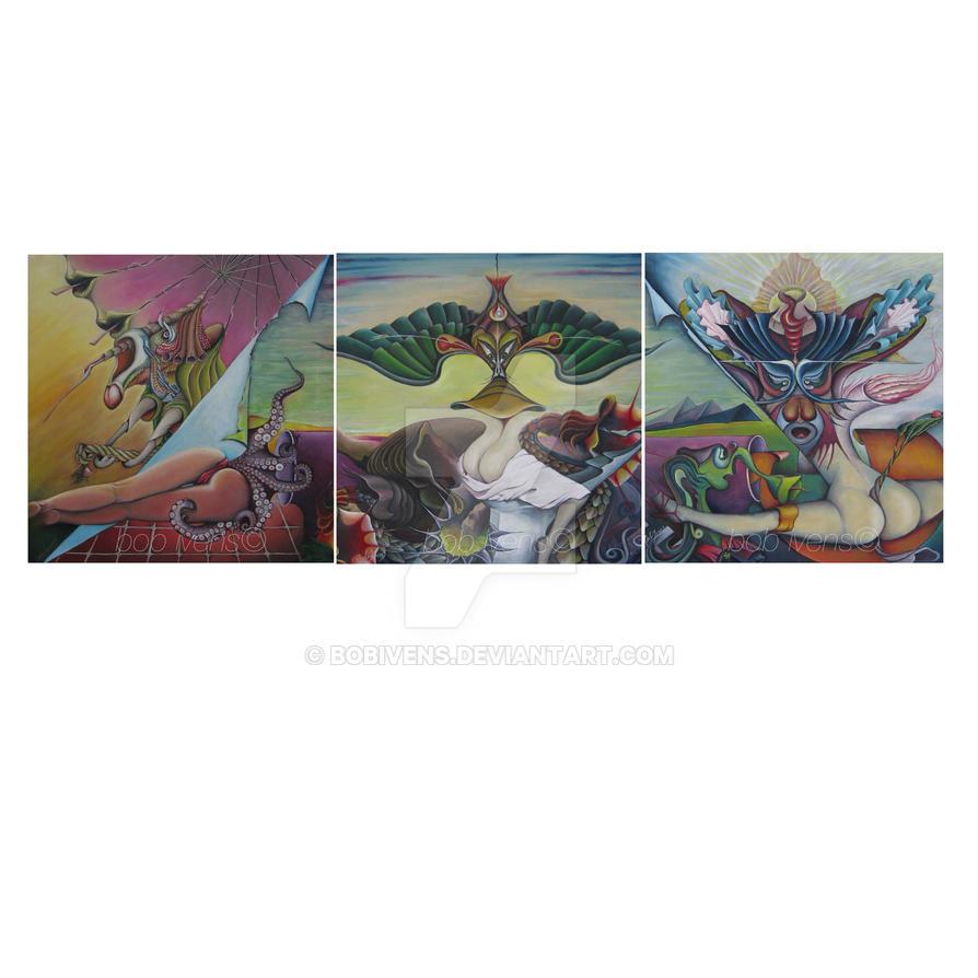 Triptych by bobivens