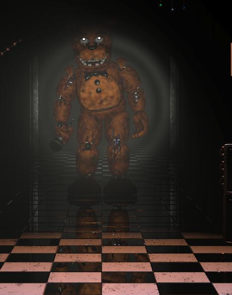 Withered Freddy Fazbear | FNaF 2 Series Minecraft Skin