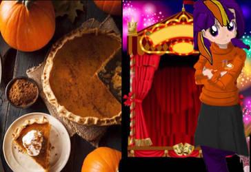 equestria girls pumpkin tart/pie