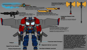Transformers - Jetwing Optimus (and Arsenal)