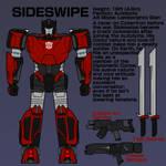 Transformers - Autobot Sideswipe