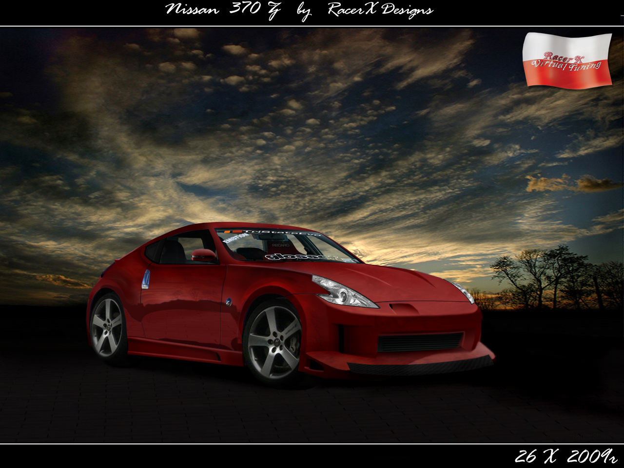 nissan 370z virtual tuning by rxstudio on deviantart. Black Bedroom Furniture Sets. Home Design Ideas