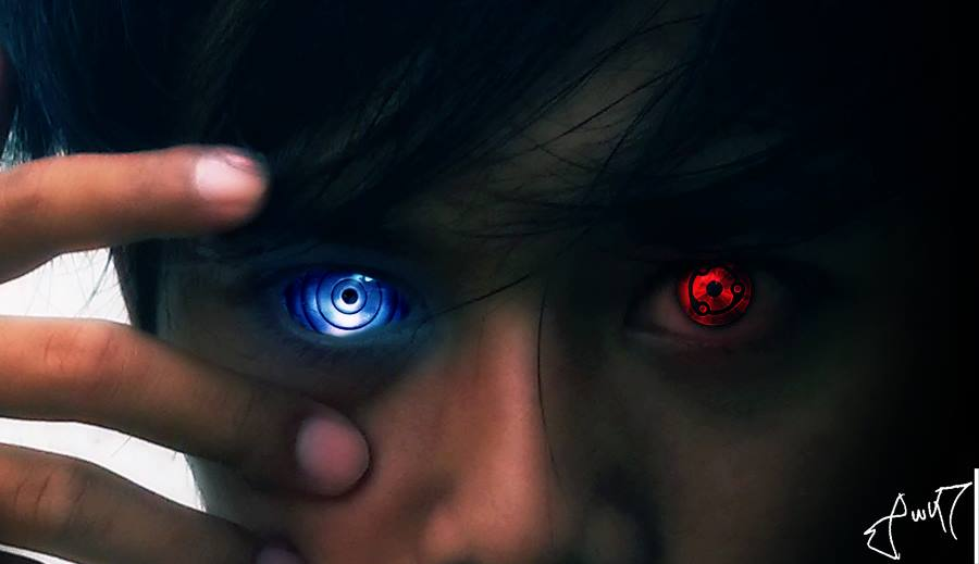 rinnegan and sharingan by awikrahman on deviantart