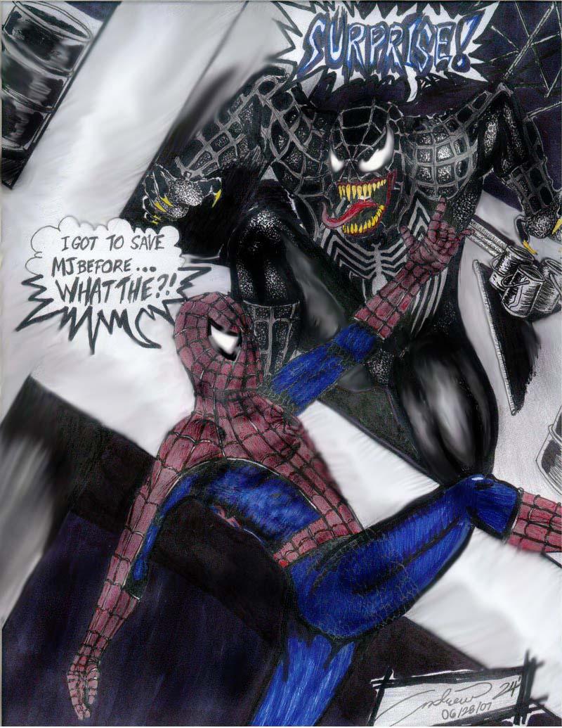 Spider-Man vs. VENOM 2 by werdna24 on DeviantArt