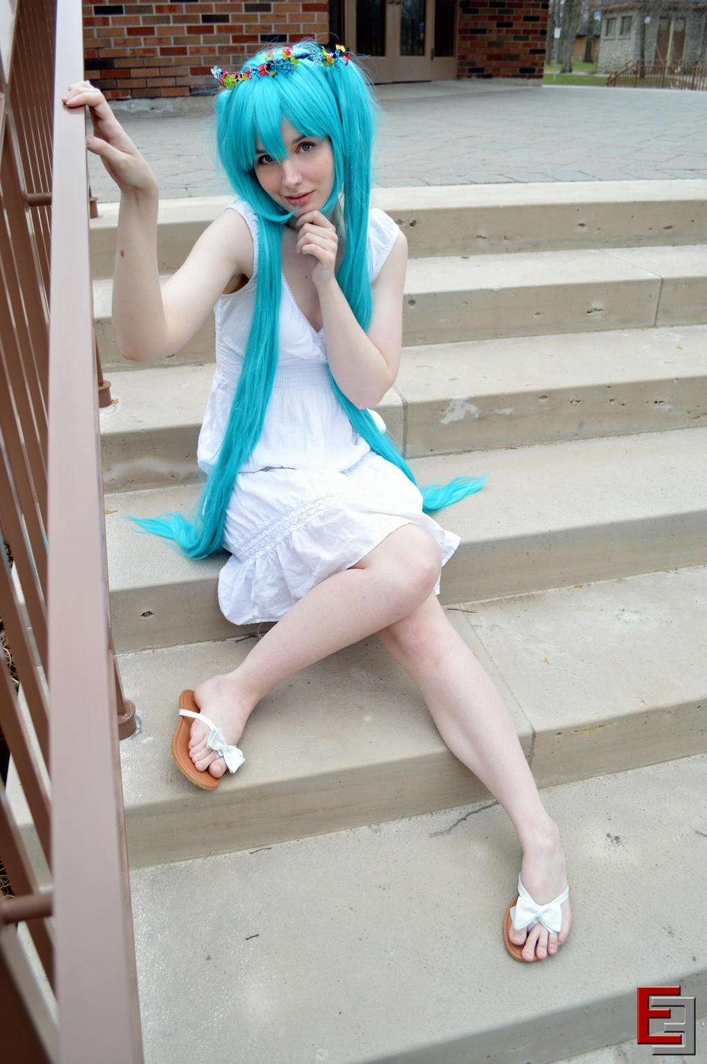 Let's Be Friends - Miku 5 by EvieE-Cosplay