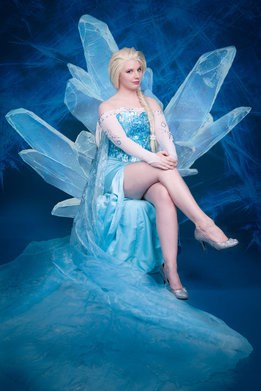 Ice Throne Eviee Cosplay Deviantart