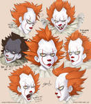 Pennywise sketches