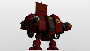 Warhammer Dreadnought in blender
