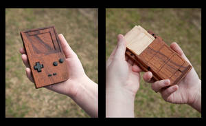 Wooden Game Boy by franknumber57