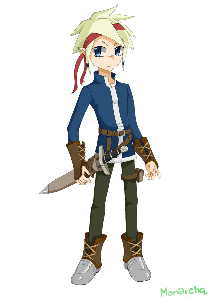 Elf Wanderer by Monarchq