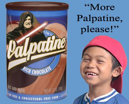 Rich Chocolate Palpatine by EDsketch
