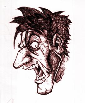 Crazy Face... by EDsketch on deviantART