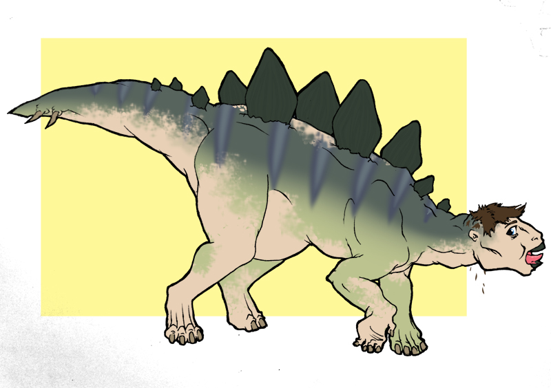 Stegosaurus TF by Narubi2