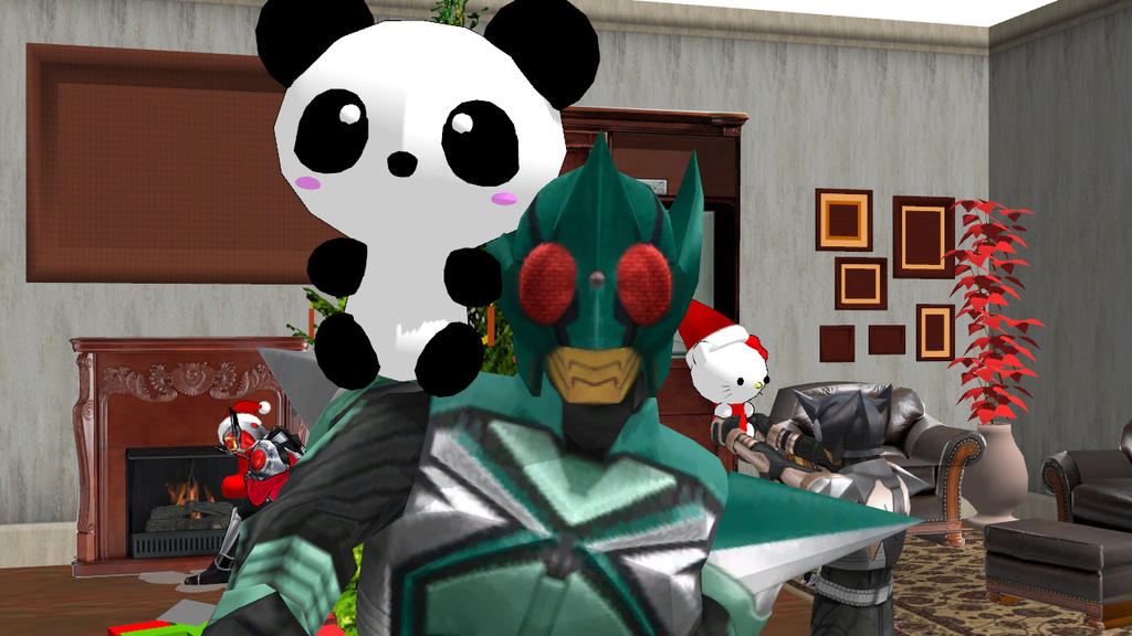 [MMD] Selfie-Look at what we got for christmas! by MIST-TO-GUN