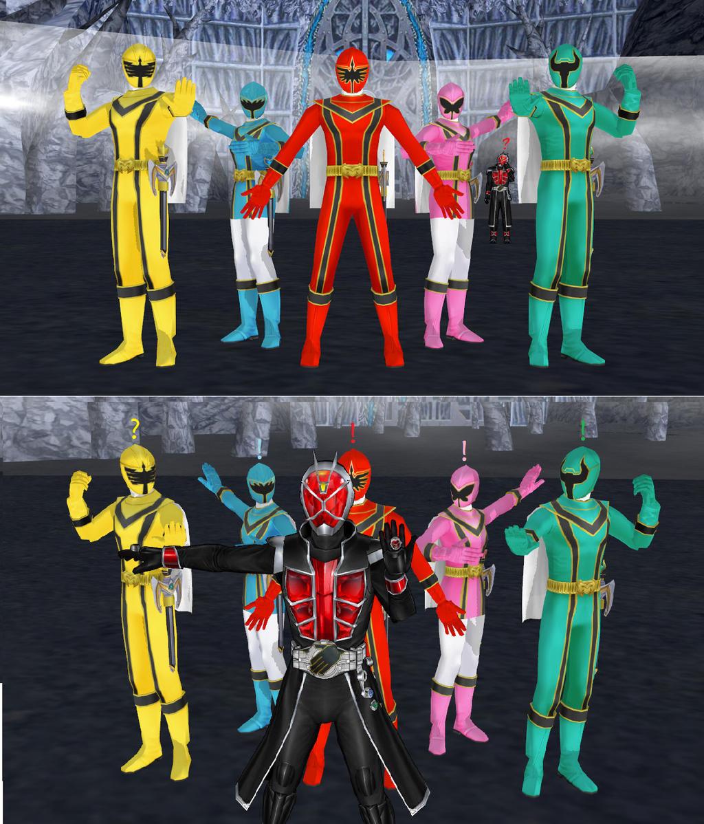 Mahou Sentai Wizardranger! by MIST-TO-GUN