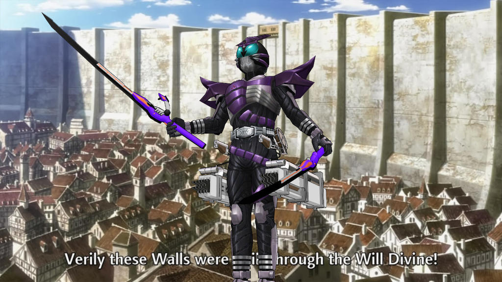 Shingeki no Sasword! by MIST-TO-GUN