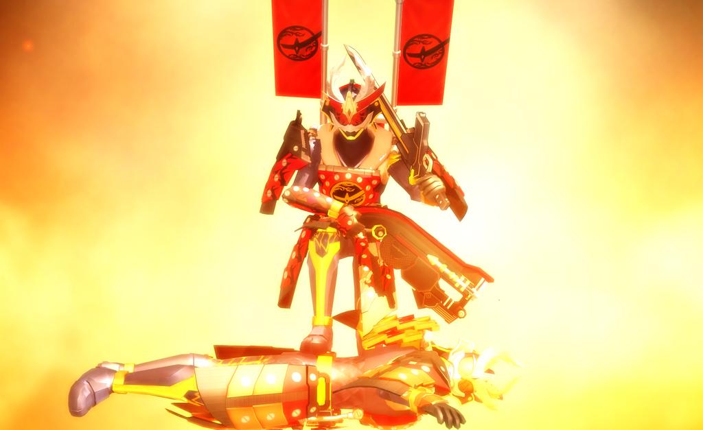 [MMD NC] Blood Kachidoki Arms!! by MIST-TO-GUN