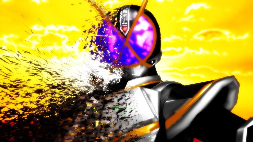 [MMD KAMEN RIDER] Cursed Belt Rider by MIST-TO-GUN