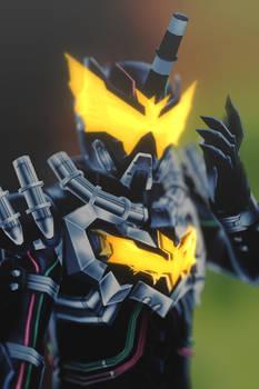 [MMD KAMEN RIDER] Steam Bat-Man