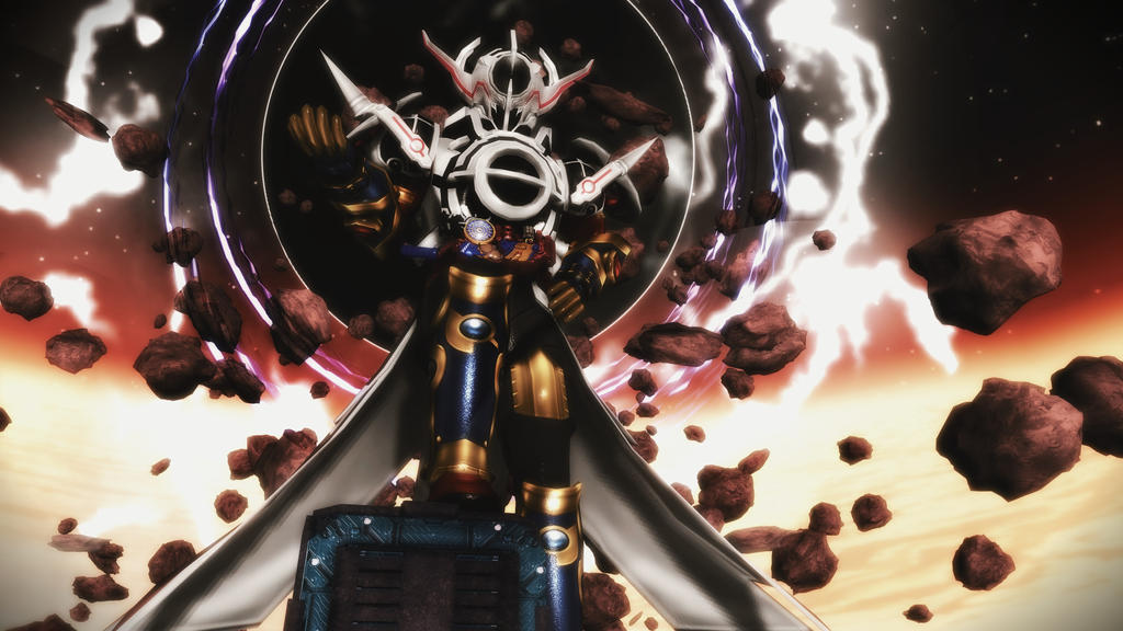 [MMD KAMEN RIDER] The Beauty of Destruction by MIST-TO-GUN