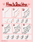 How to Draw Wings in 6 Steps - Tutorial