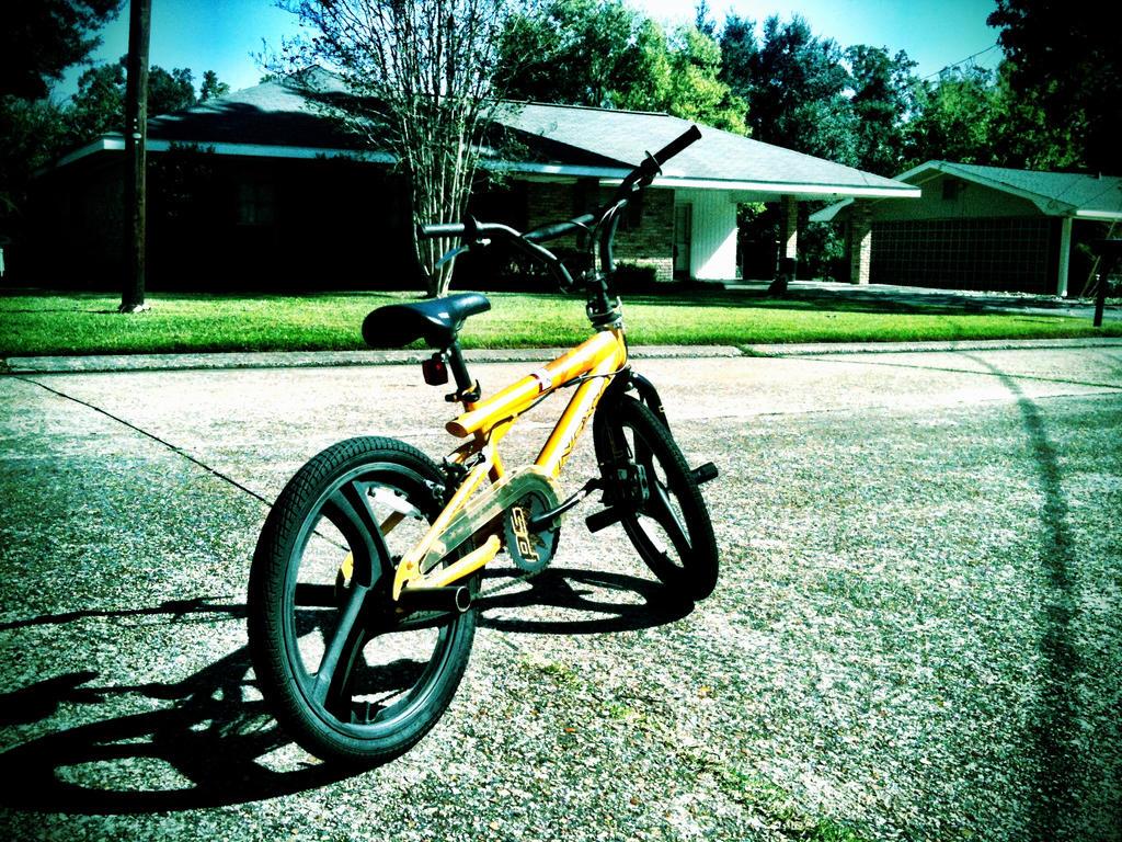 Riderless bike by bedroom-inc