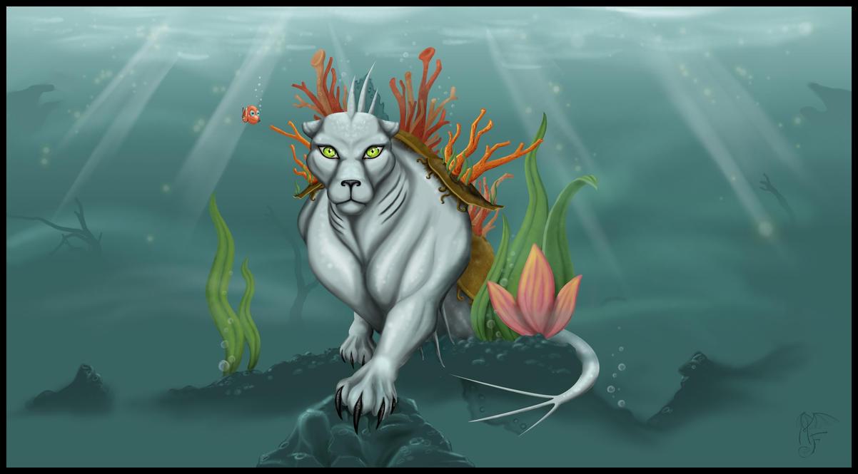 GABUVIS water panther by LadyMartina