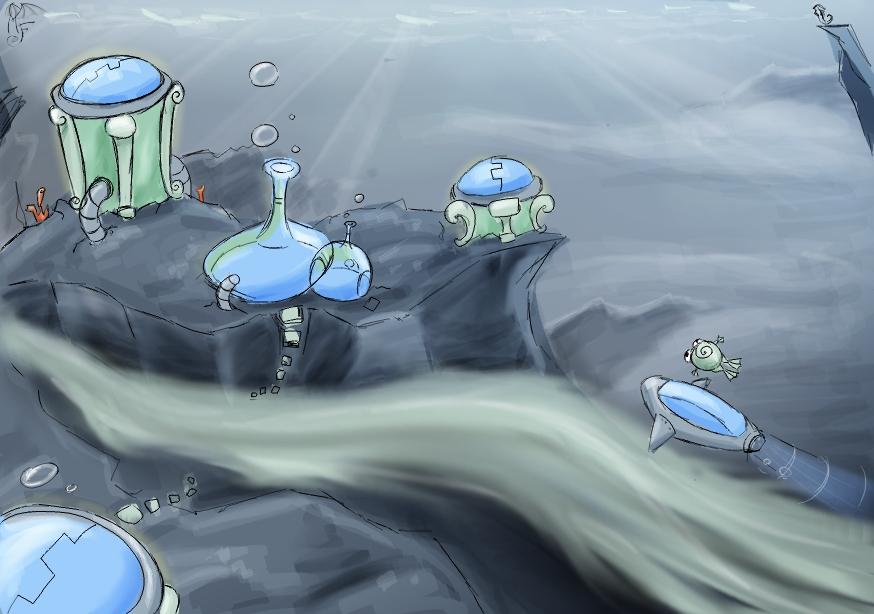 AQUERA underwater by LadyMartina