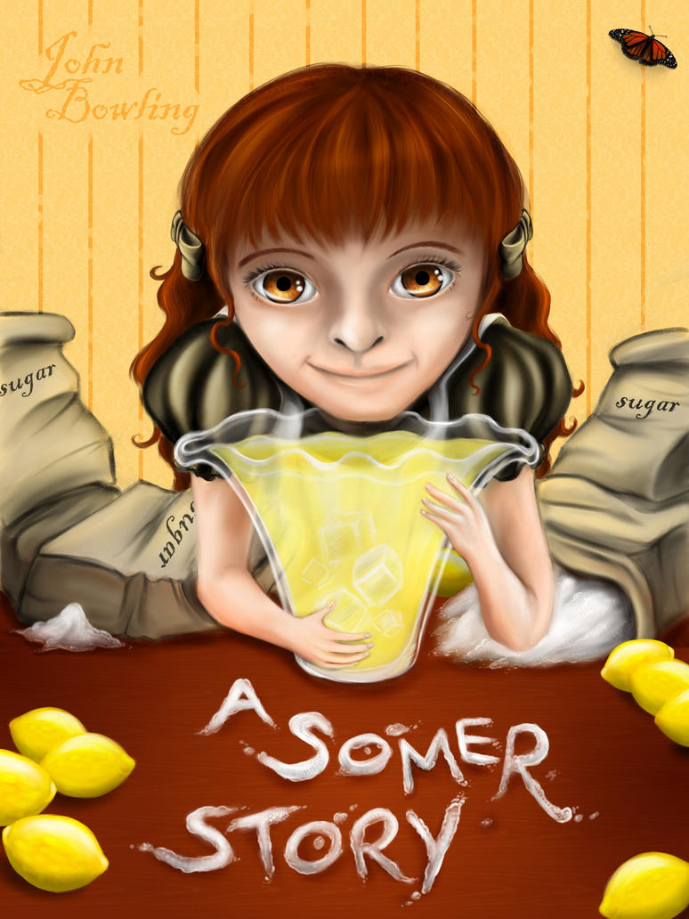 A Somer Story - Cover Front by LadyMartina