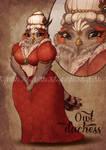 [CLOSED] Owl Duchess by MartinaDaBologna
