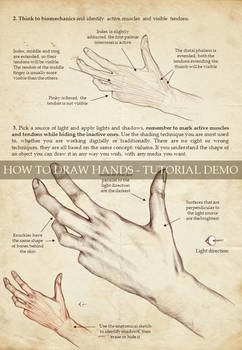How to Draw Hands Tutorial - Page 19