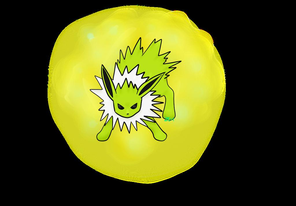 Shiny Jolteon by Kodokuna-Kun