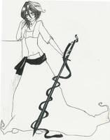 Arrancar Rukia by 13thDreamer
