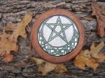 Celtic Moon Altar Pentacle