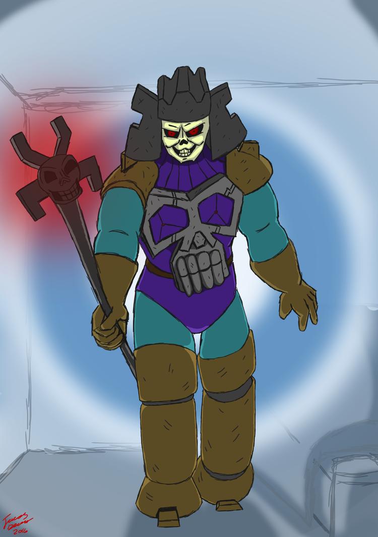 revival of skeletor by gemtherabbit-123