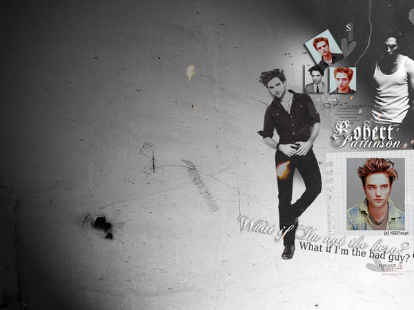 Robert Pattinson by SunnyGirl33