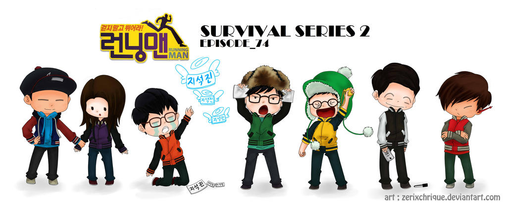 RUNNING MAN EP 74 By Zerixchrique
