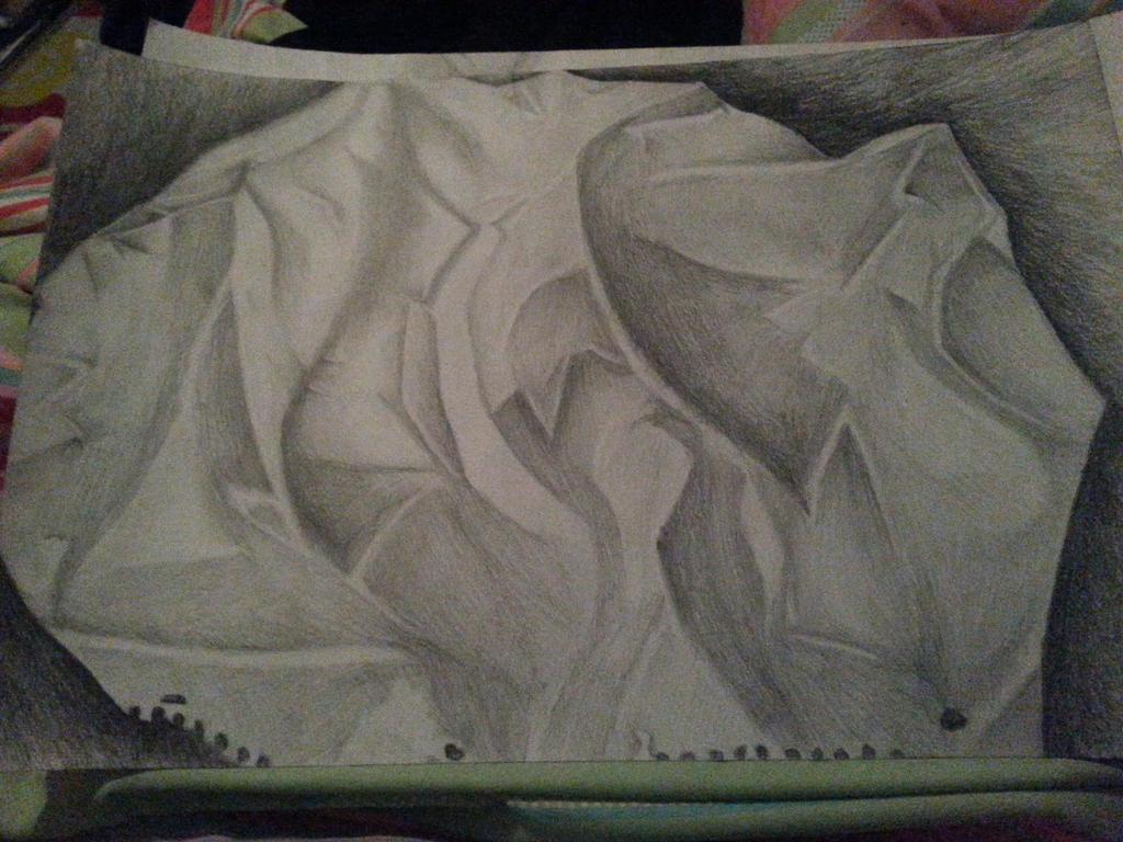 Crumpled Paper  by ShazuNyanRawwr