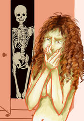 Skeleton in the closet (censored version) by KamiraS