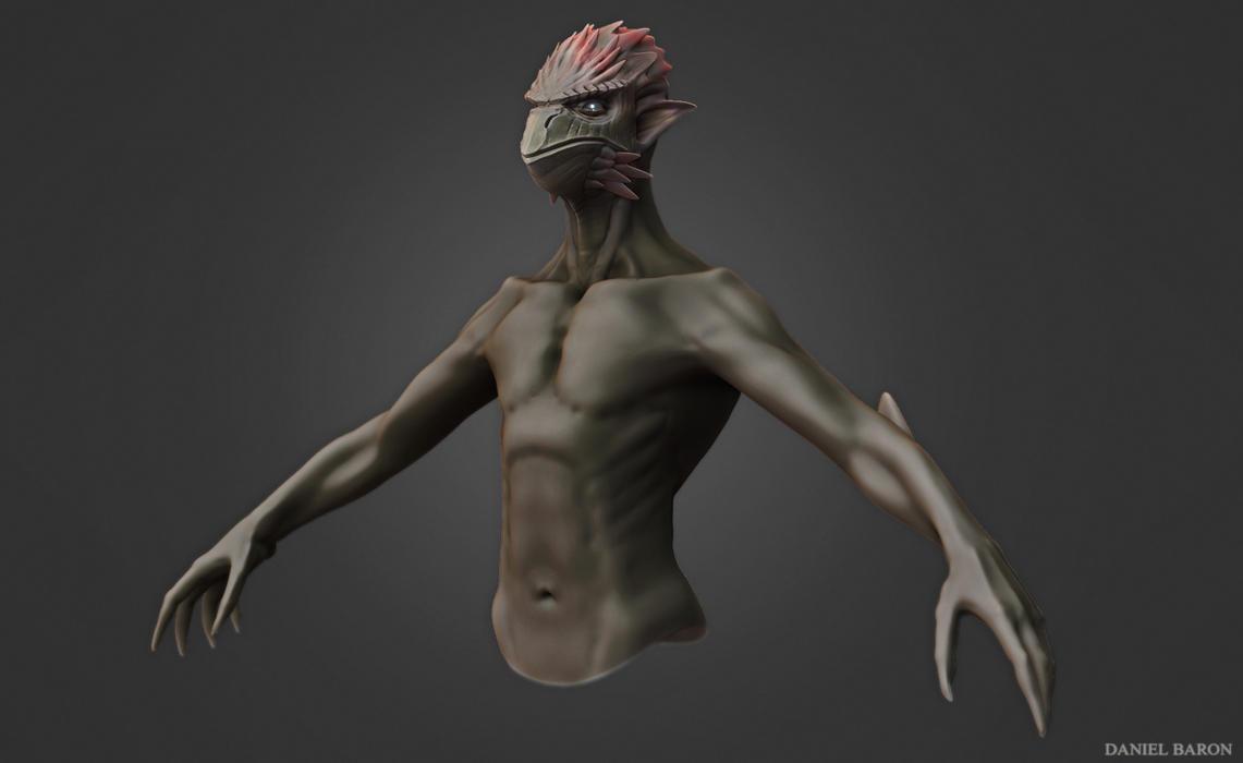 hybrid bird/man :D by Skarloc