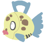 Feebas Sticker
