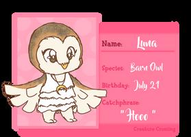[CC] App - Luna by Kosukie