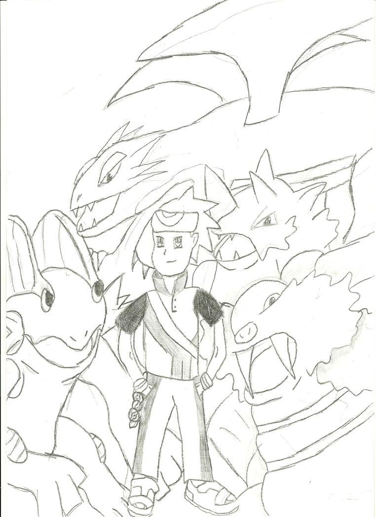 My Pokemon Emerald team by GeminiWorks