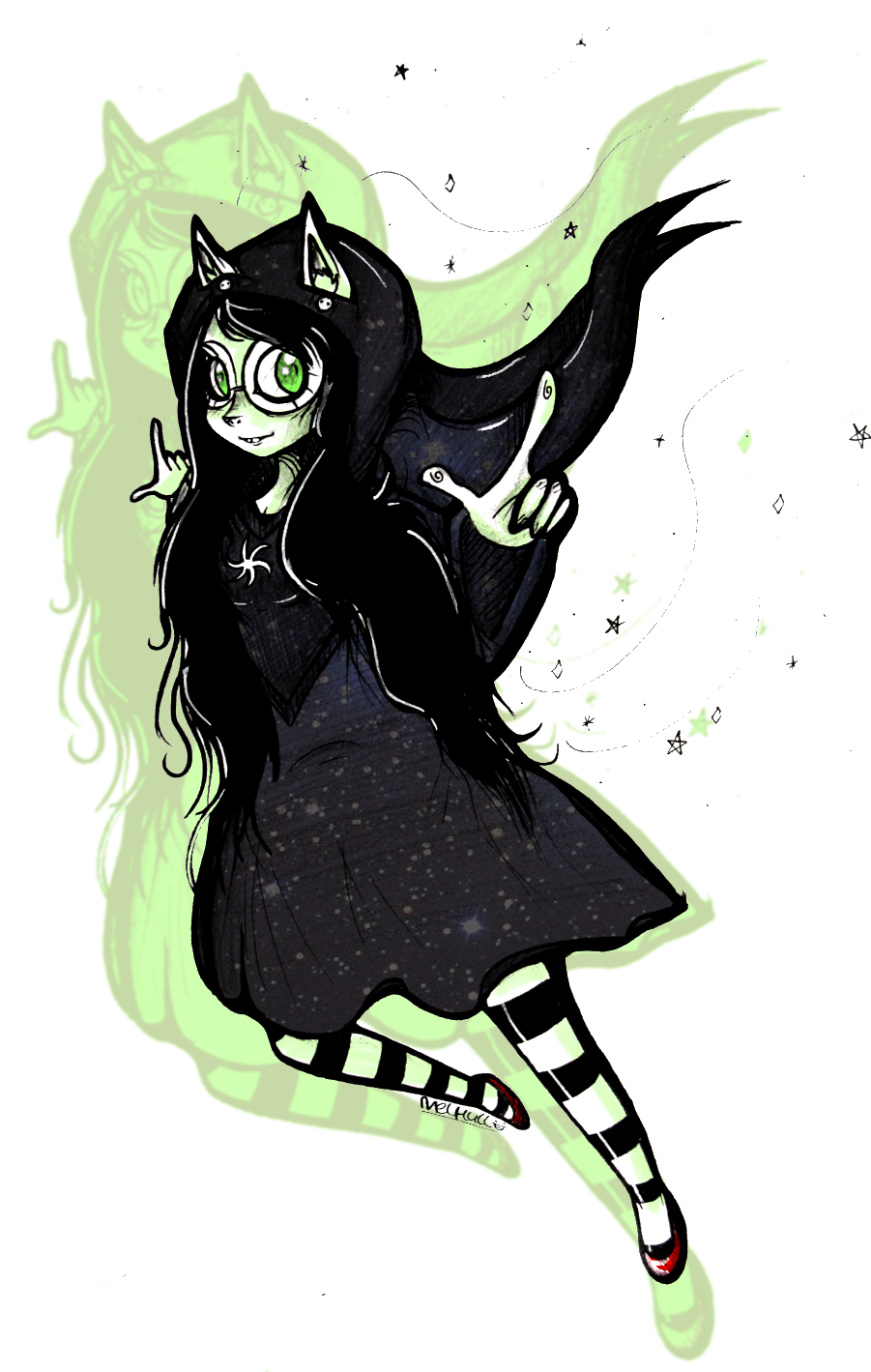 Witch of Space by starblinx