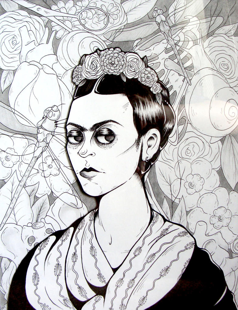 Kahlo by starblinx