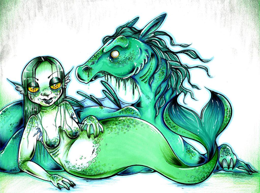 Mermaid by starblinx