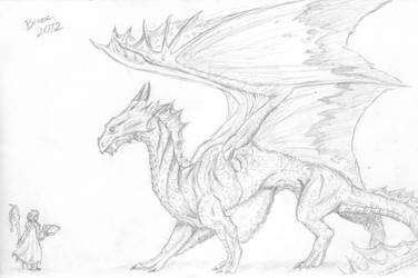 Bronze Dragon (Scanned)