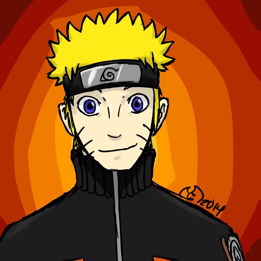 Naruto by GhostdramonX