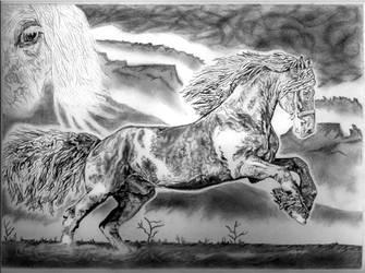 Eclipse of Destiny by ArtbyKevinTyssen