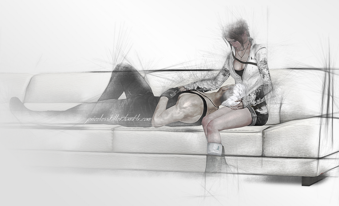 DmC Dante and Kat by eonnimeu